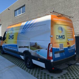 DMG - Bedrijfswageninrichting