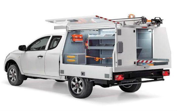 Fiat Fullback Storevan inrichting