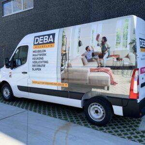 DEBA Meubelen - Bedrijfswageninrichting