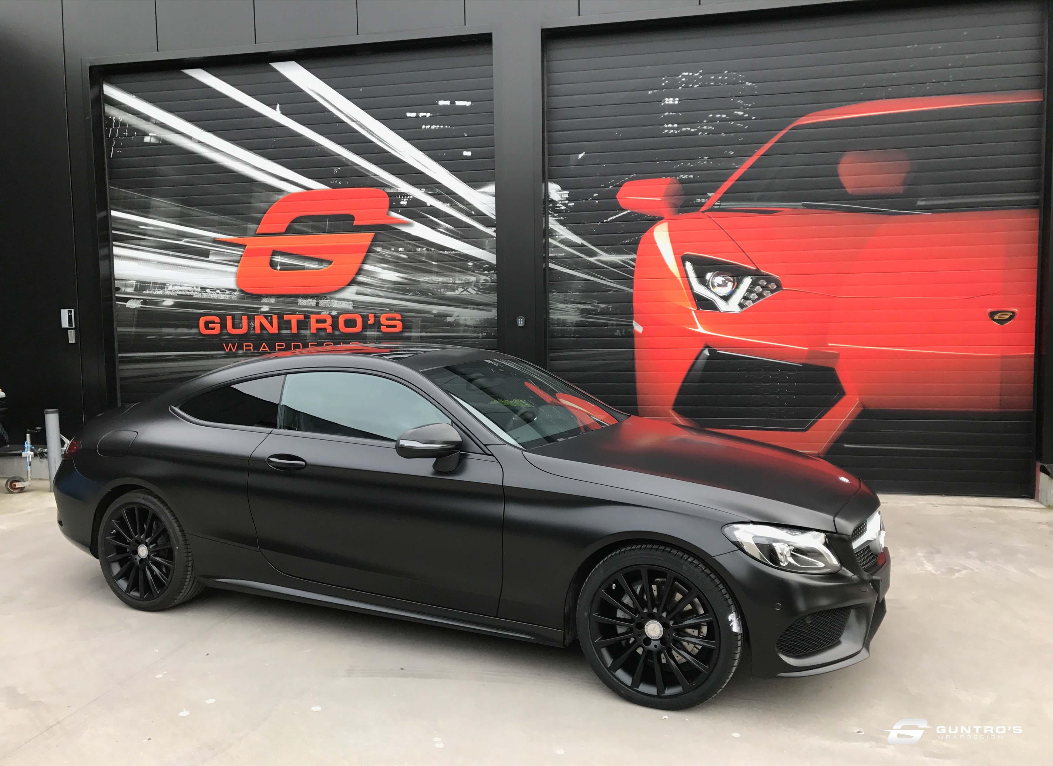 FULL WRAP MERCEDES C COUPE