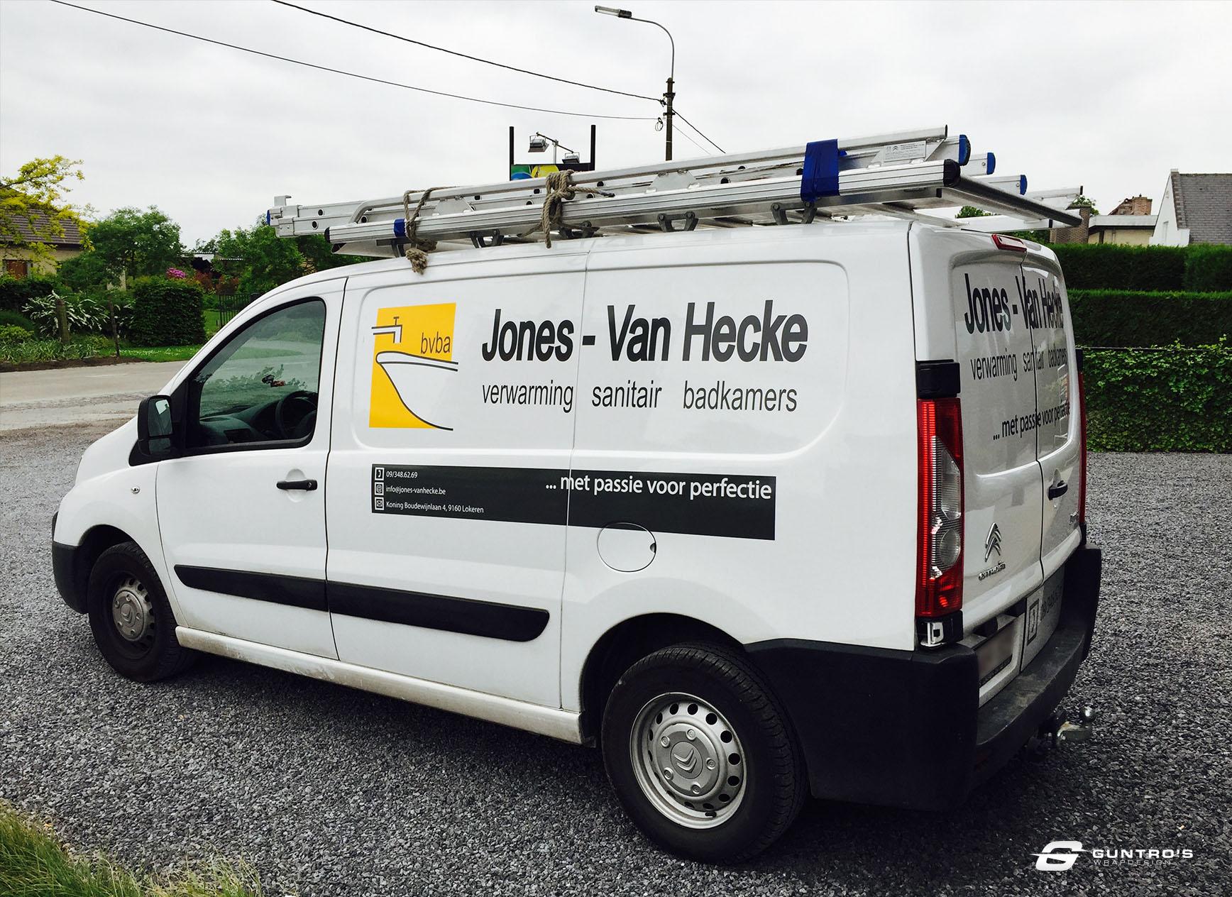 BELETTERING JONES-VAN HECKE