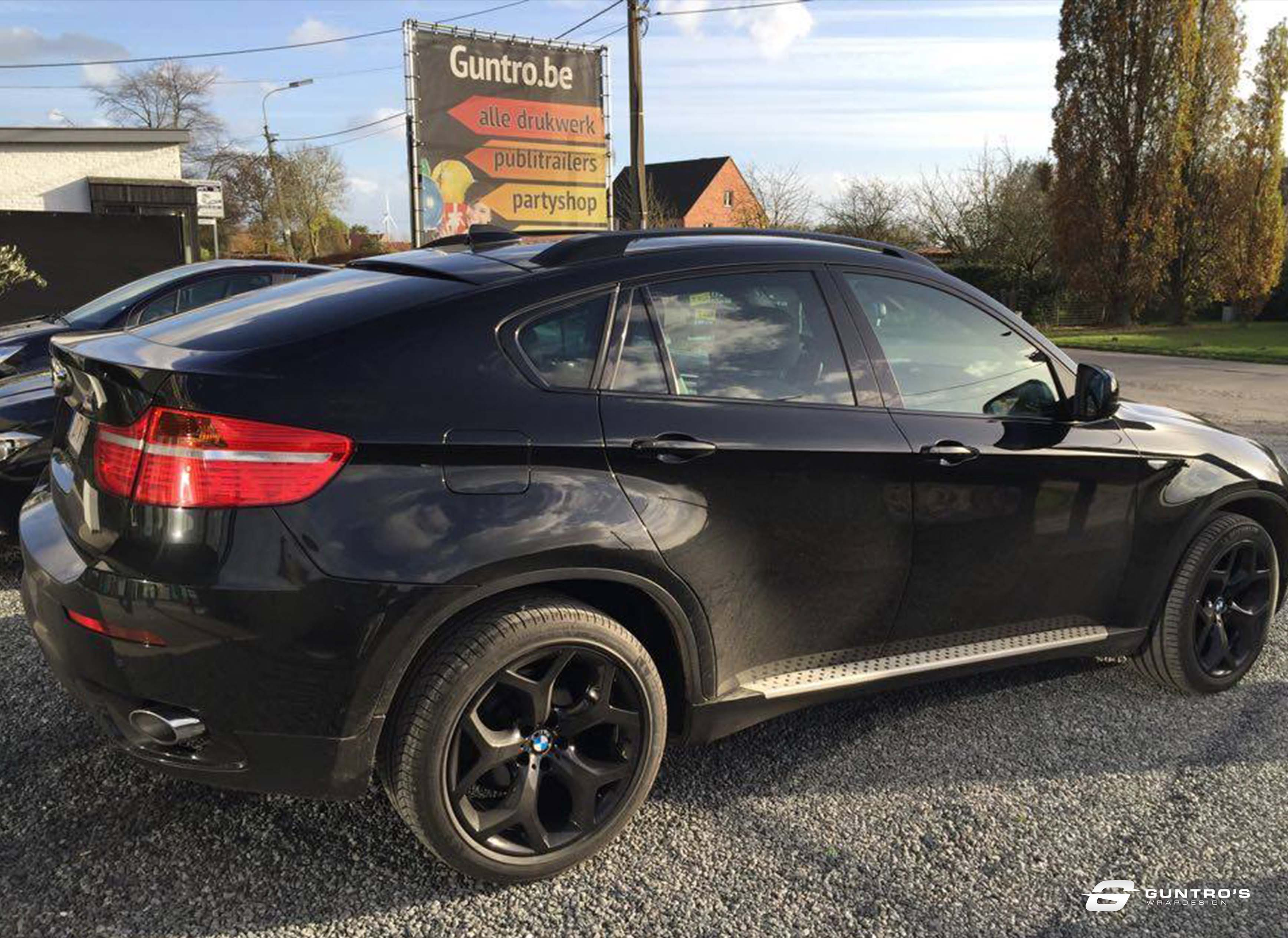 ACCENT BLACK PACK BMW X6