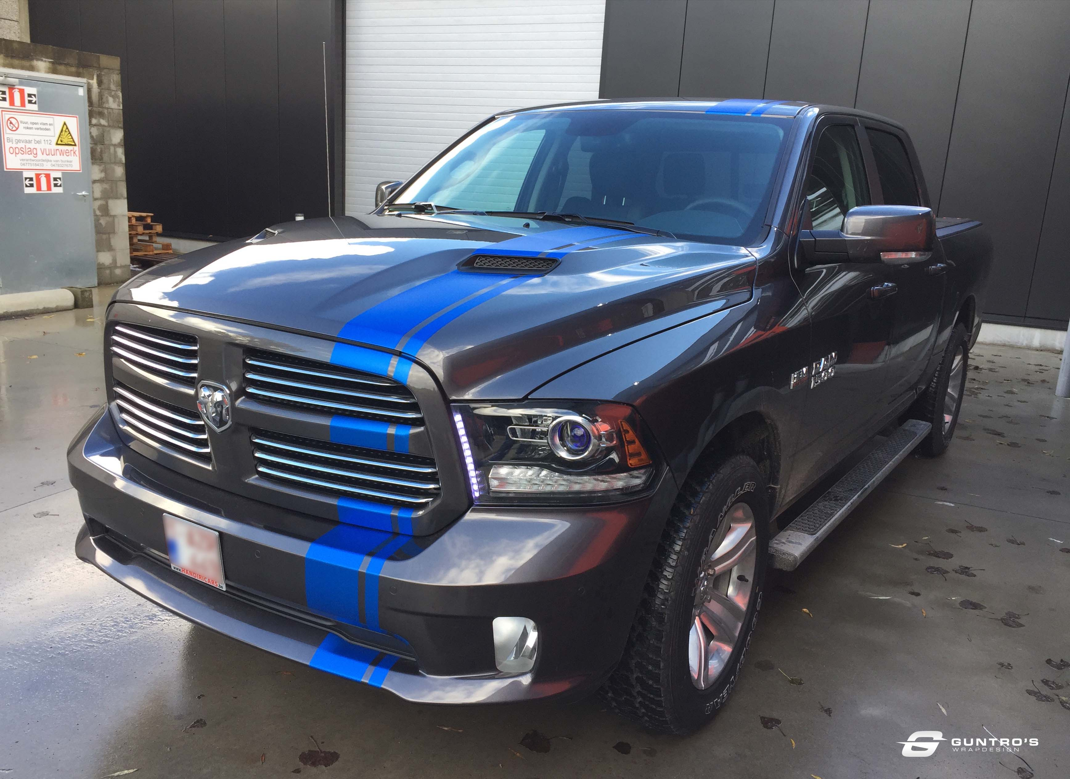 ACCENT STRIPING DODGE RAM