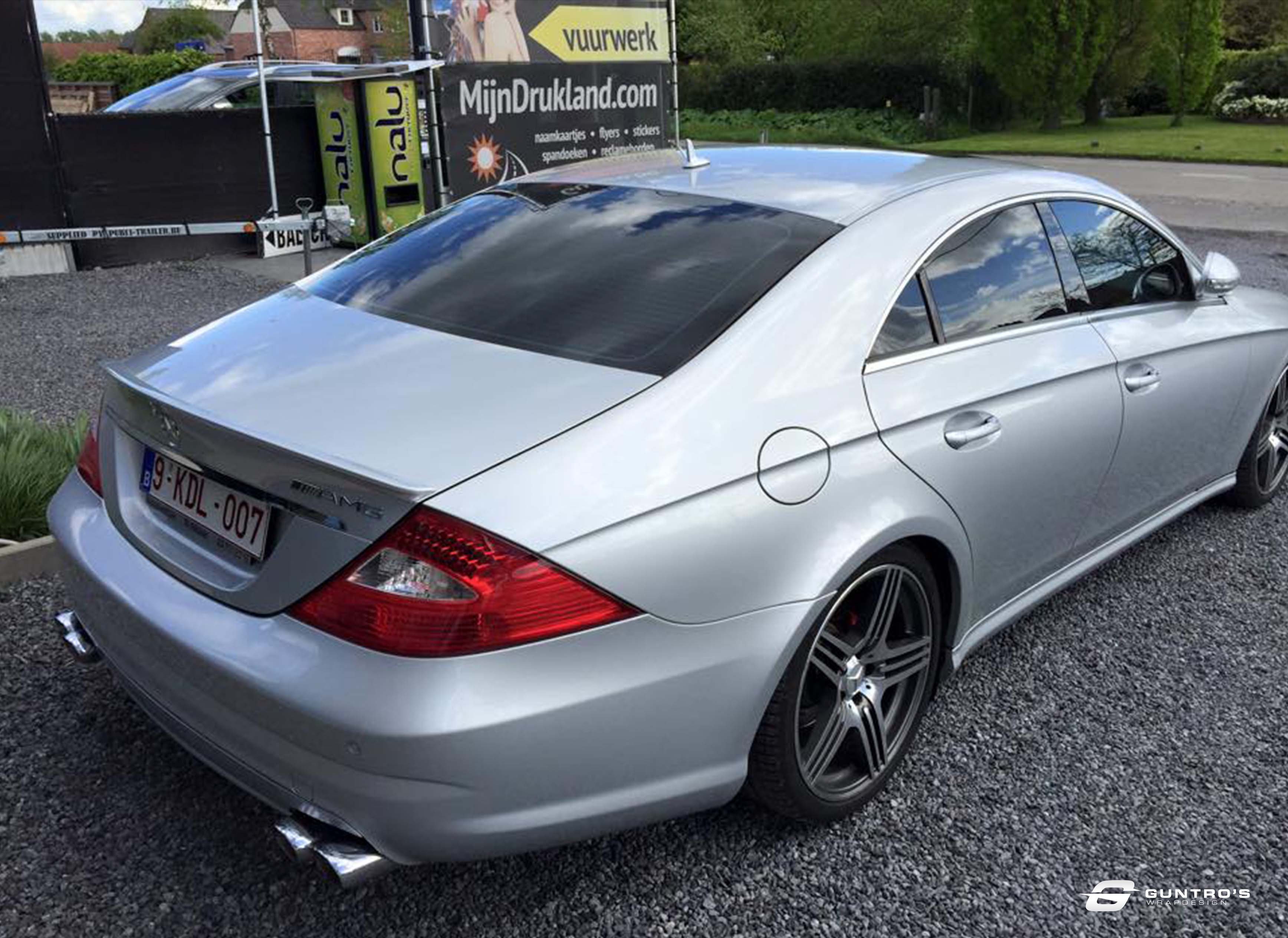 TINTING MERCEDES CLS