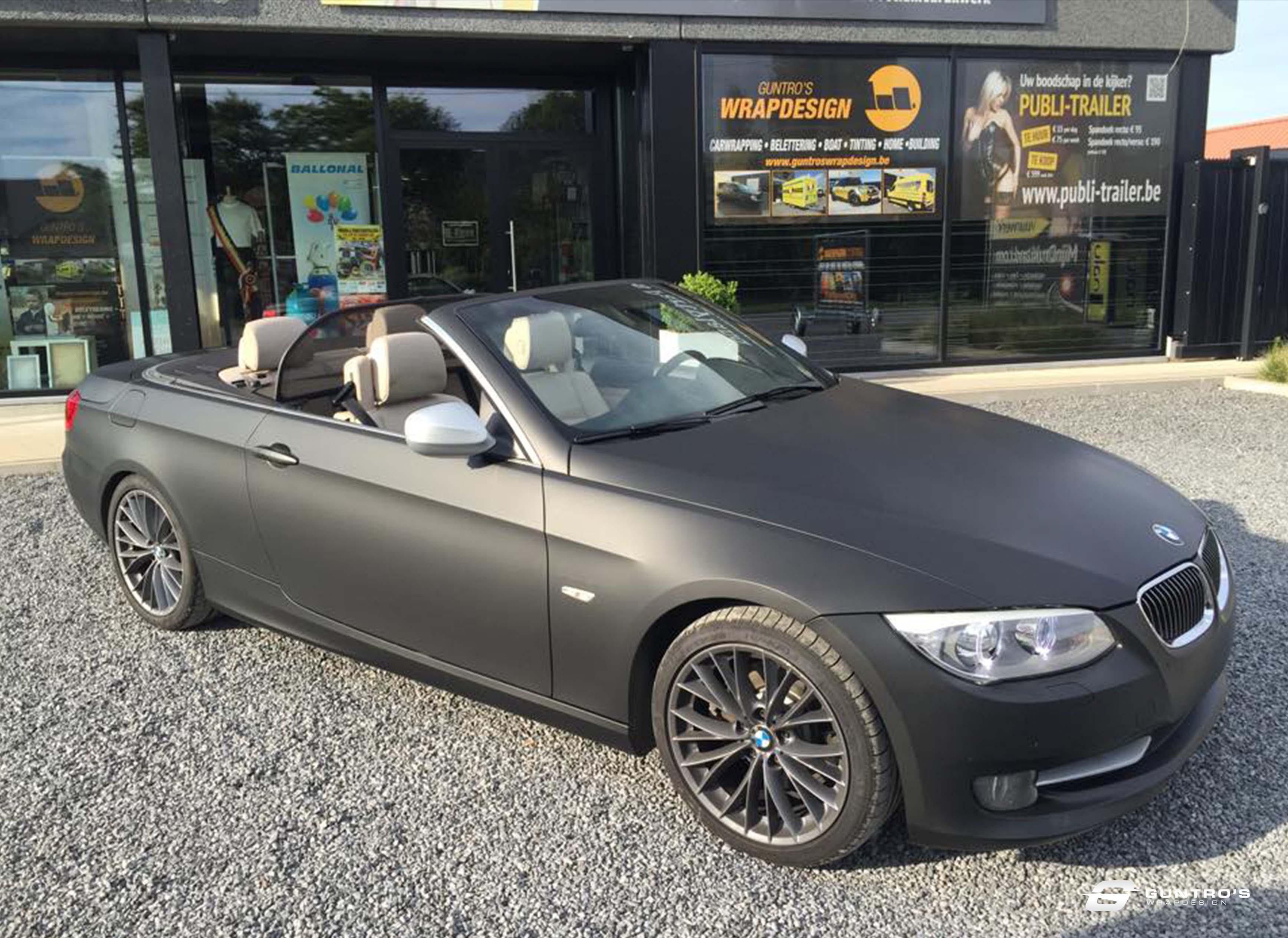FULL WRAP BMW 3 CABRIO