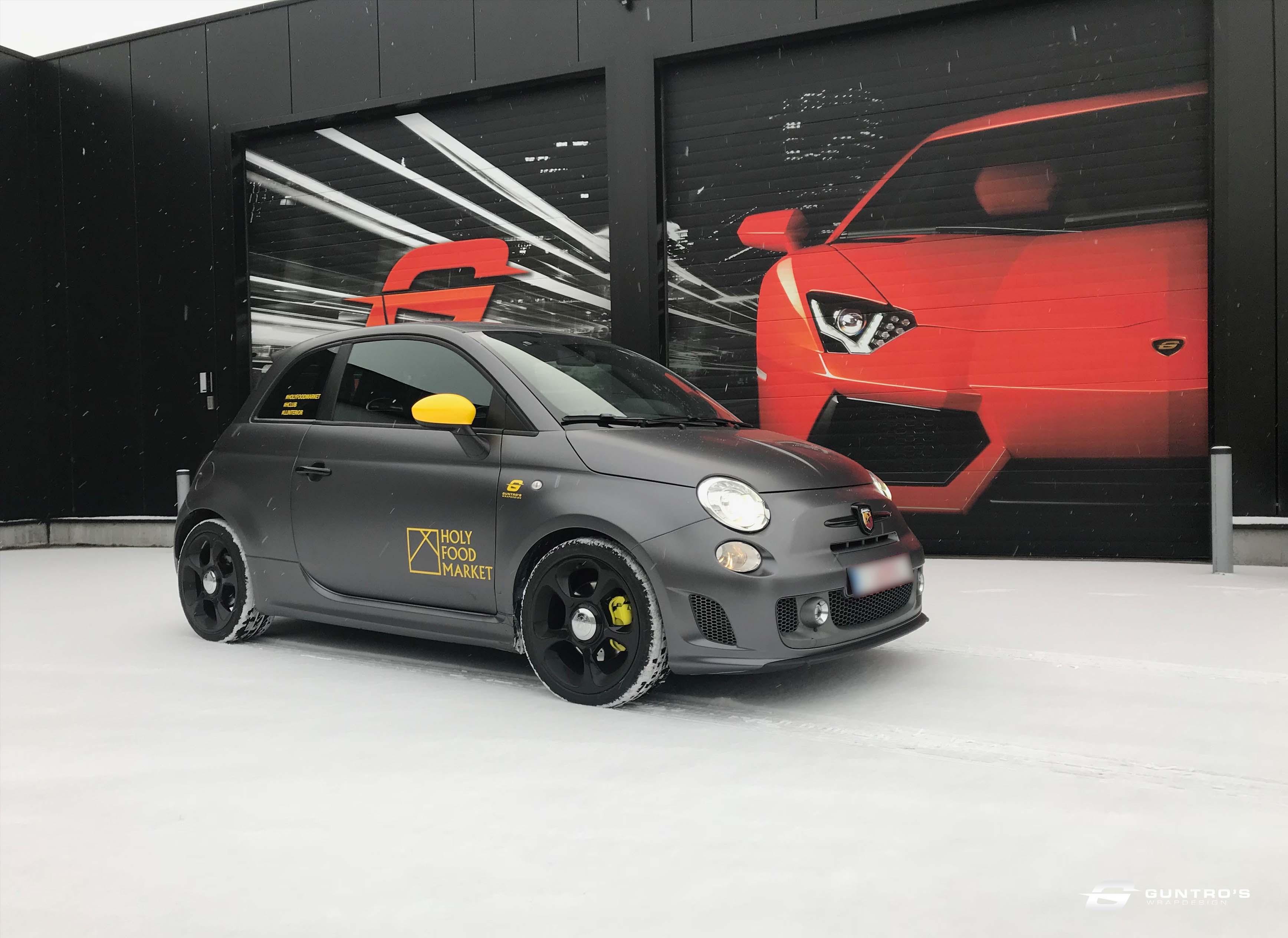 FULL WRAP FIAT 500 ABARTH