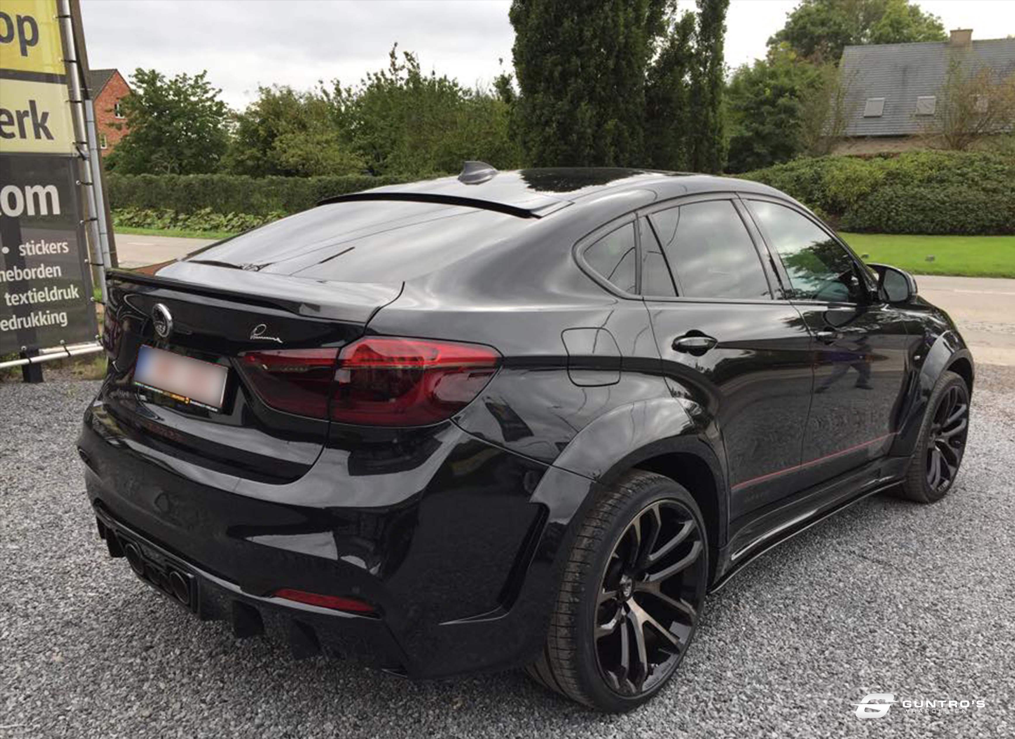 ACCENT WRAP BMW X6 LUMMA DESIGN