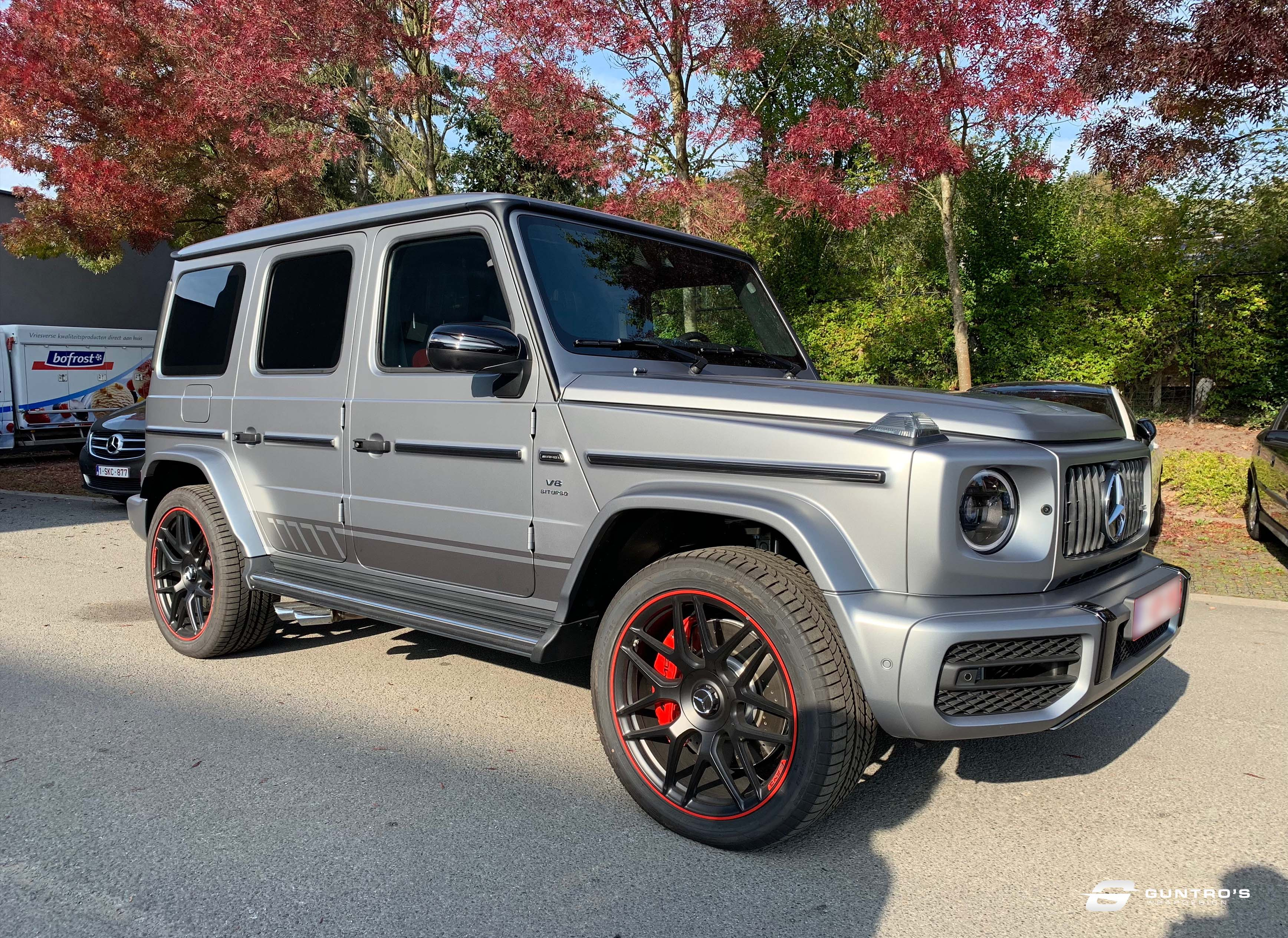 ACCENT STRIPING MERCEDES G63 AMG