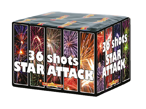Star Attack 36 Shots 12/1