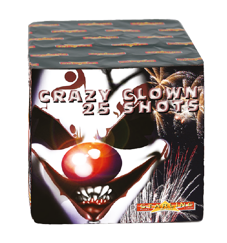Crazy Clown 25 Shots 8/1