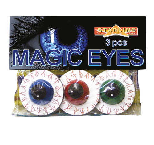 Magic Eyes (3) 6/@32