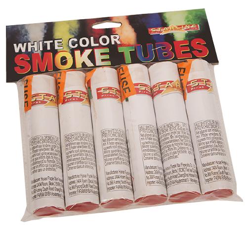 White Smoke Tubes (6) 24/1